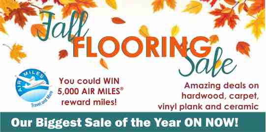 FALL FLOORING SALE 2018
